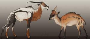 Creatures 1 | Commission by CobraVenom