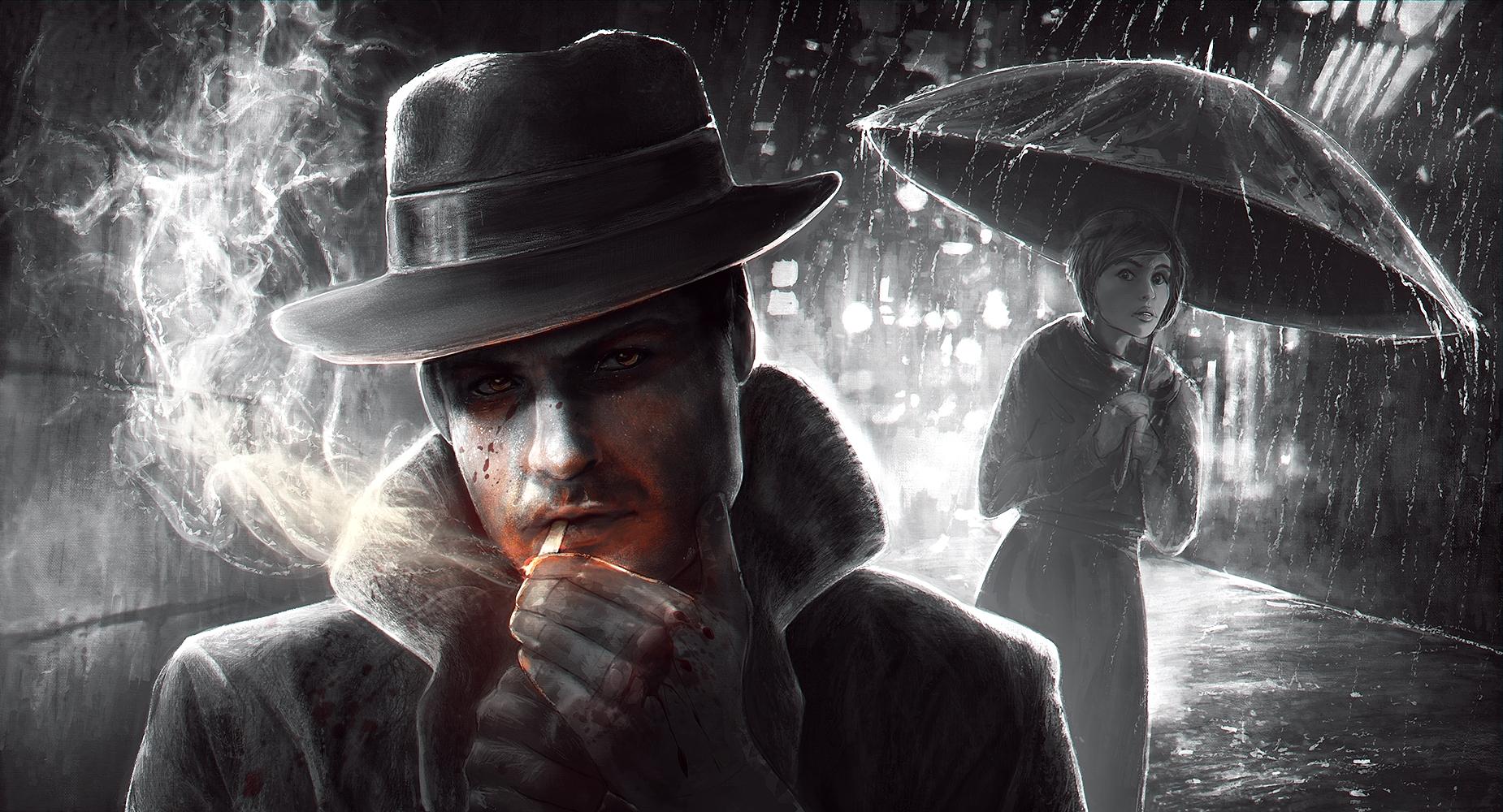 Smoking Man by CobraVenom