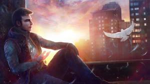 Jason Novak (Hero) | Glass Contest by CobraVenom