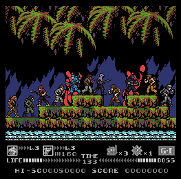 GiJoe Mercenaries Jungle Stage by Mr-ShineSpark
