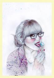 my tiny ice cream by LadyWH