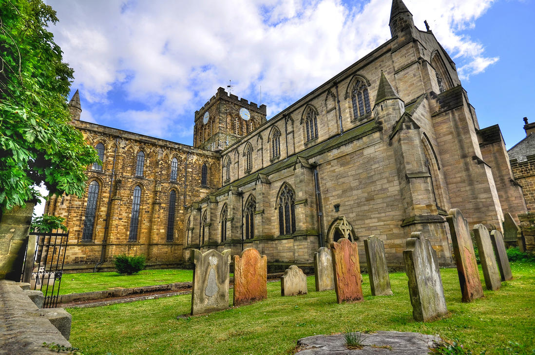 Hexham Abbey by roodpa
