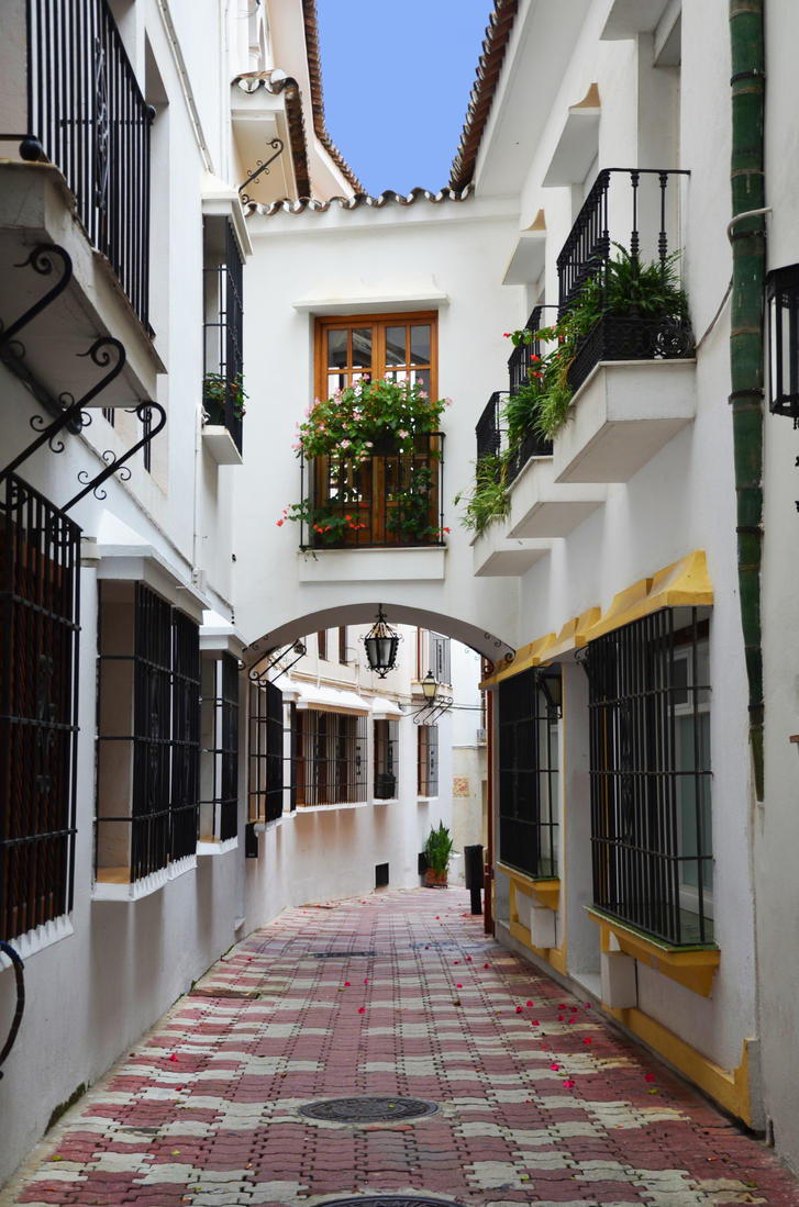 Marbella old town by roodpa