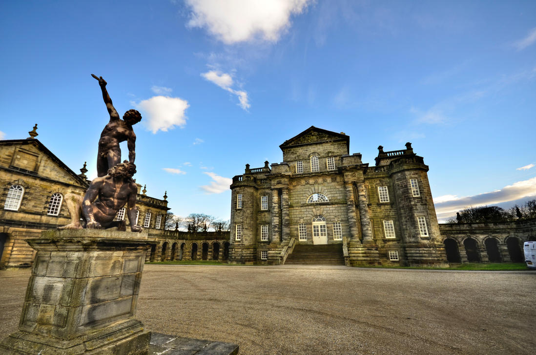 Seaton Delaval Hall by roodpa