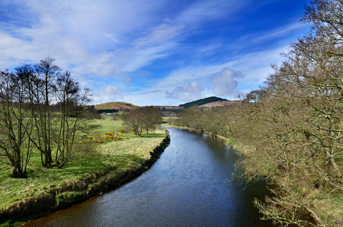 River Coquet by roodpa