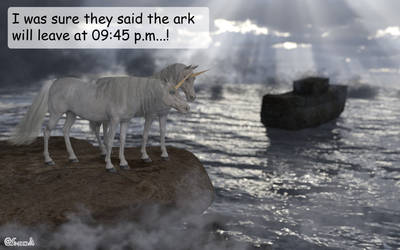 The truth about the disappearance of unicorns...