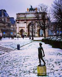 Arc du Carrousel, Paris  by Monomakh