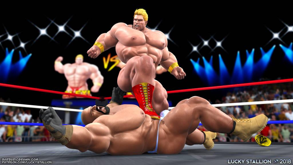 Hard Body Wrestling 05 by lucky-stallion