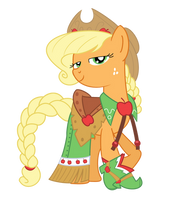Apple Jack Gala dress by PhilipTomkins