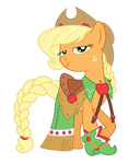 Apple Jack Gala dress
