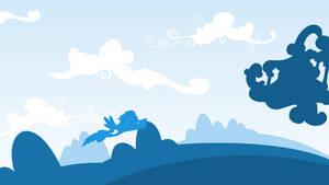 Rainbow Dash's Cloudcredible Wallpaper