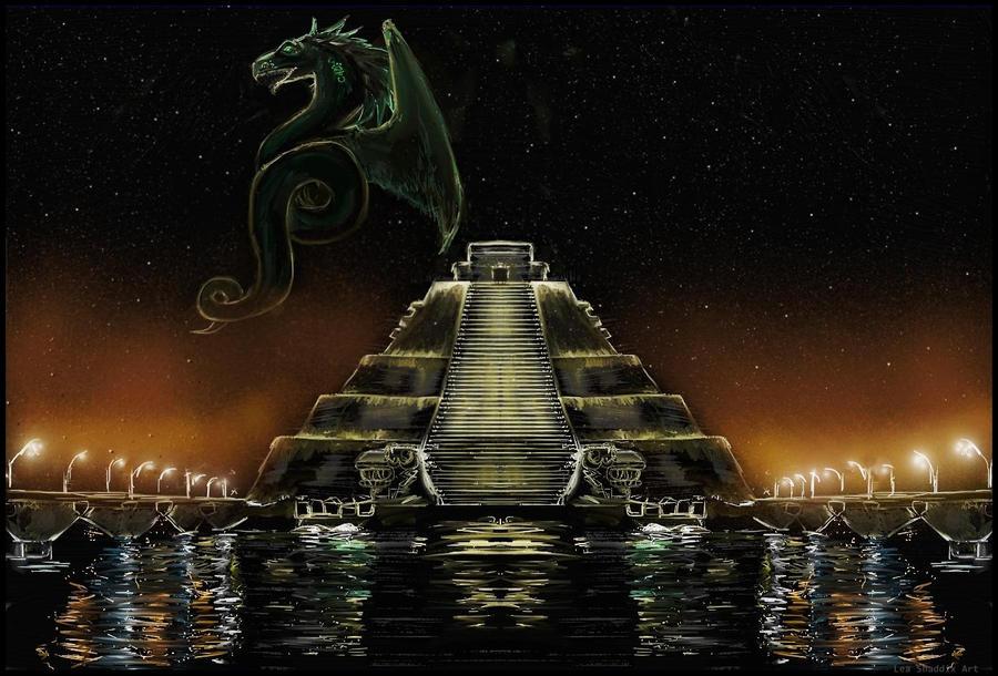 Moje ilustracije Quetzalcoatl_by_vampire_88-d54tv6g