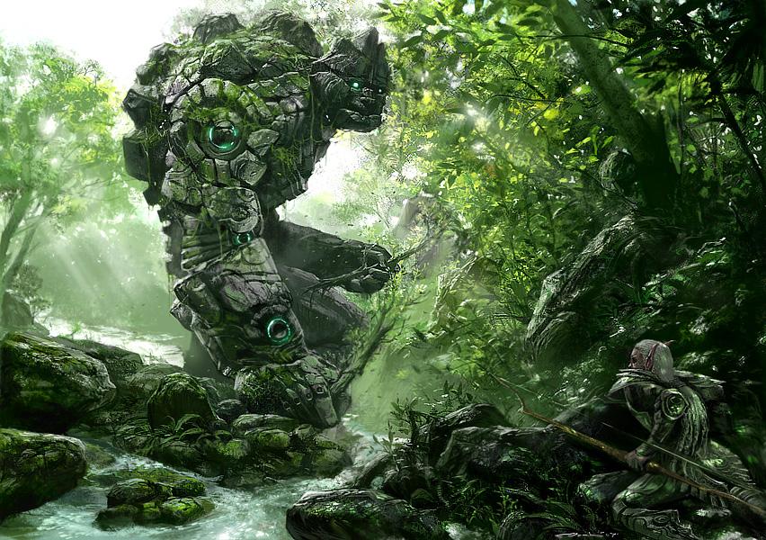 clossus fantasy art