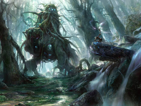God of the forest