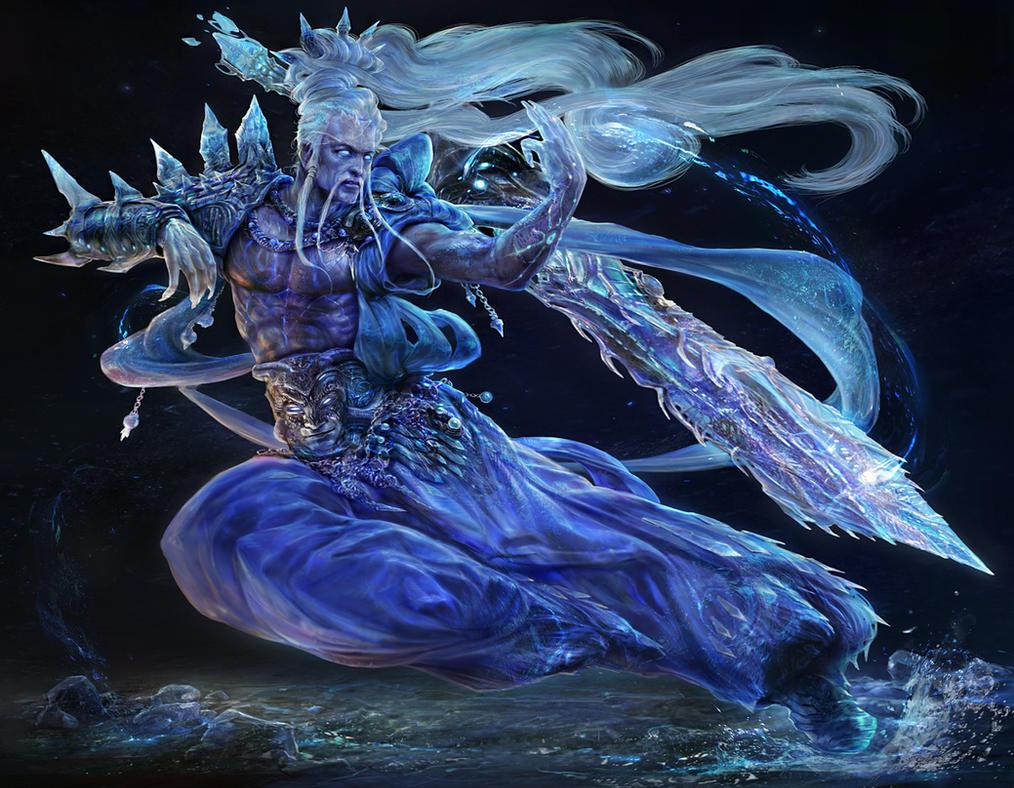 The spirit of sword by noah-khBlue Spirit Swords