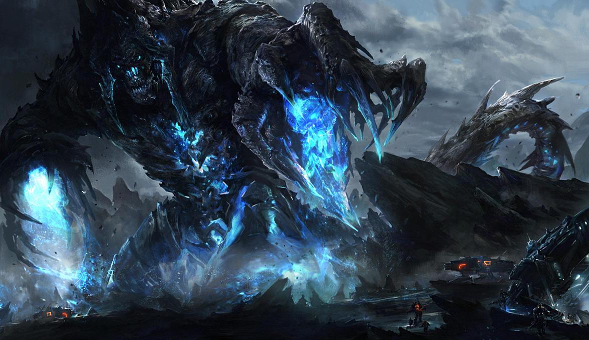 Rock demon by noah-kh