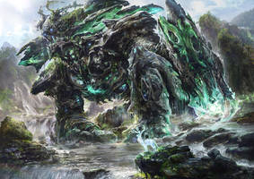 The nature god by noah-kh