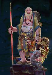 Monkey King and Bajie