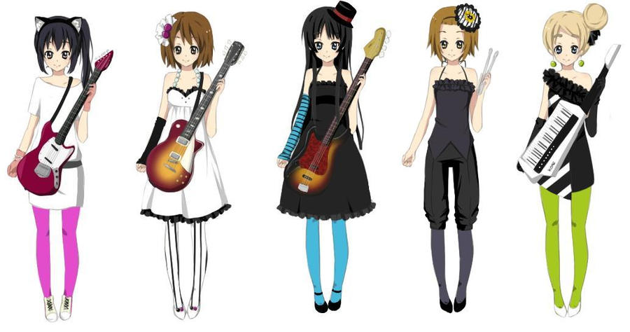 K-on u0026#39;dont say lazyu0026#39; costumes by awill48 on DeviantArt