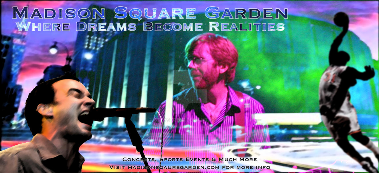 Madison Square Garden Ad By Greystre3t On Deviantart