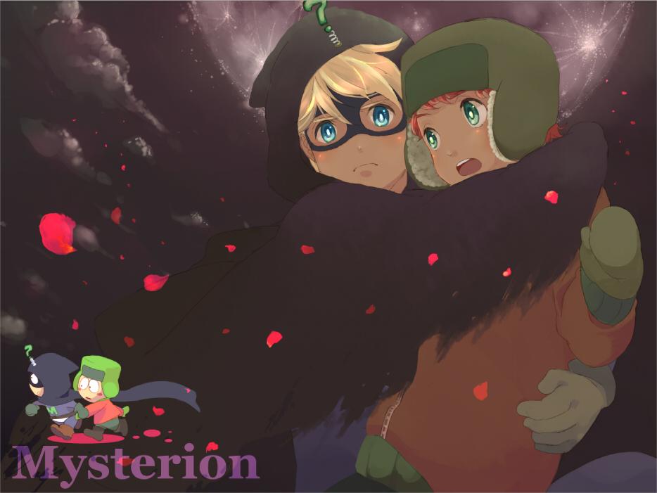 South Park Anime Kenny X Kyle South park - mysterion by