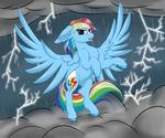 Rainbow Dash Thunder