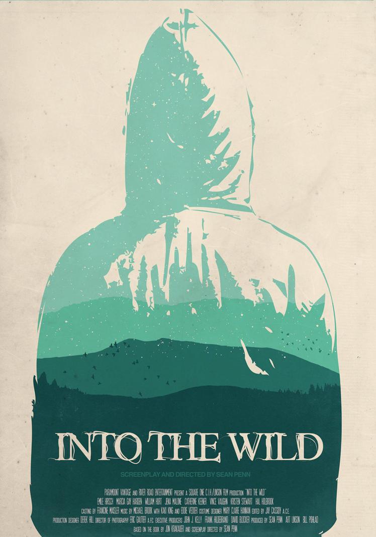 Into the Wild minimalist poster by tillfabriken on DeviantArt