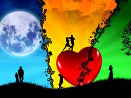 everybody needs love by MohdAzmi
