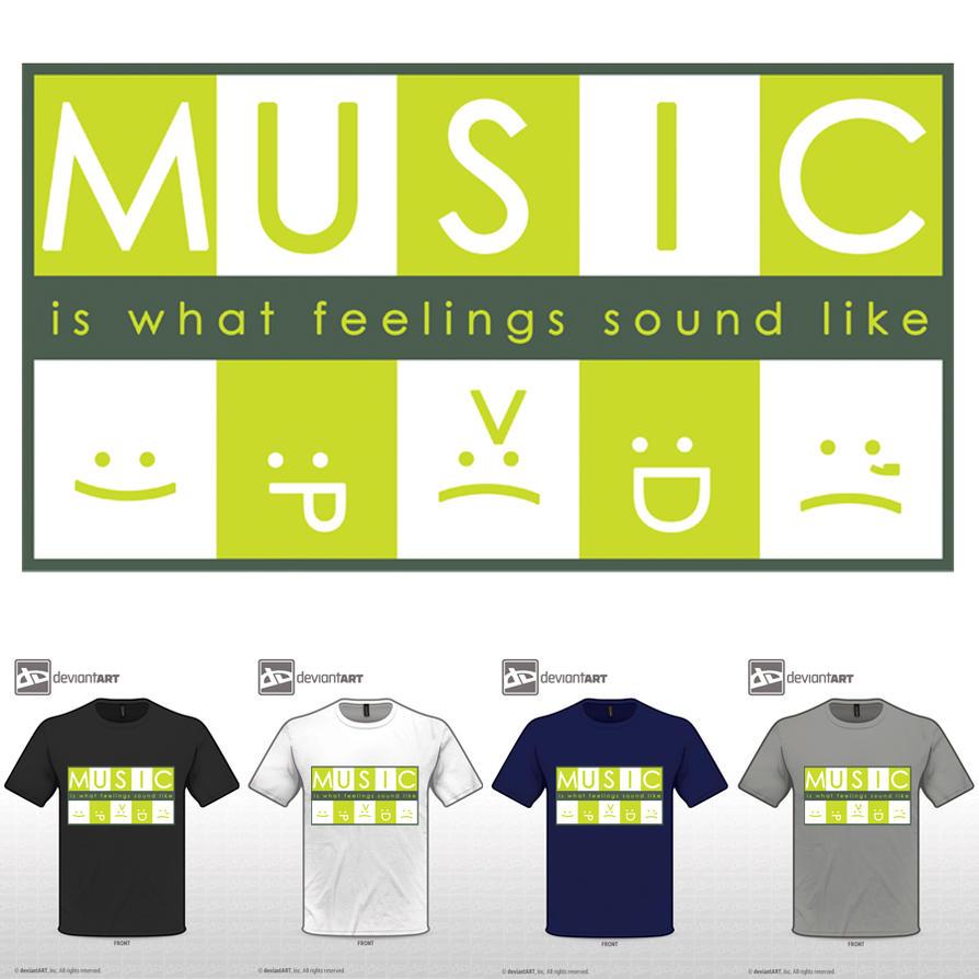 Music is what feelings sound like wallpaper