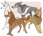 Wolfs Rain WolfWalkers