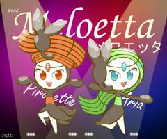 #648 Meloetta by CRAZ1