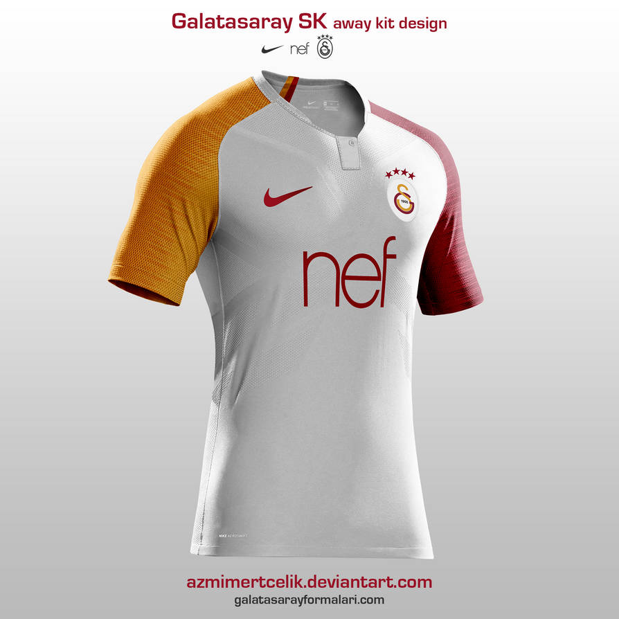 Galatasaray 18-19 away kit design by azmimertcelik on DeviantArt fad1fb7ab