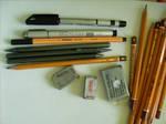 my drawing tools.