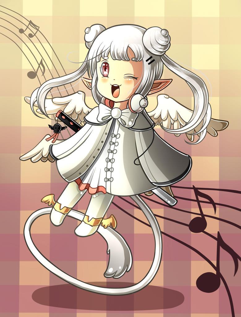 Princess Mikeru Chibi by Cocacolilla