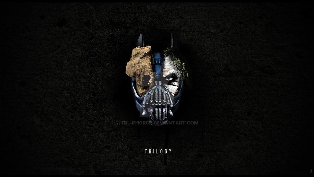 batman trilogy by TRL-phorce