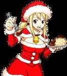 Lucy Heartfilia (Christmas) Render