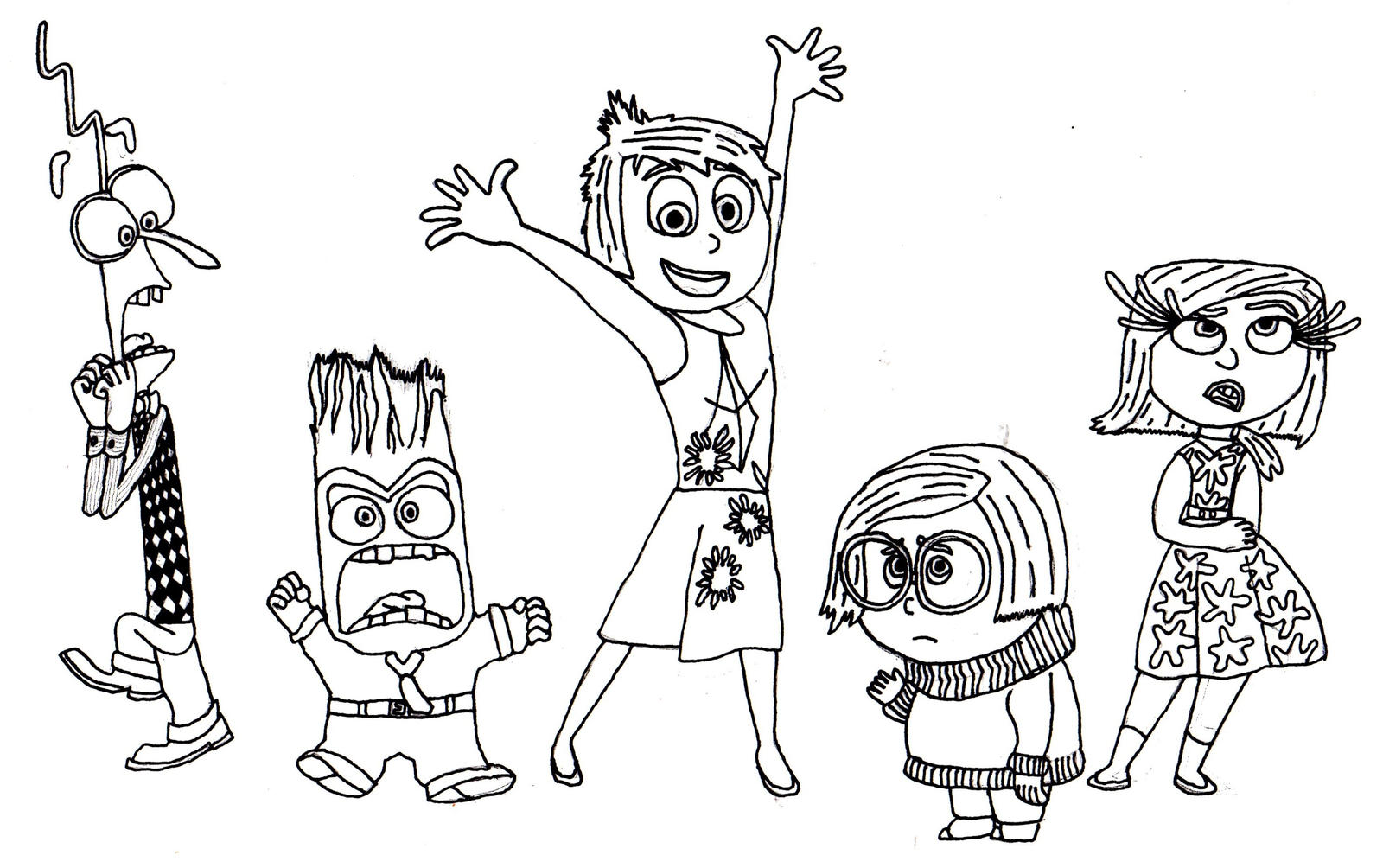 Inside out fanart sketch by jackhammer86 on deviantart for Inside out coloring pages