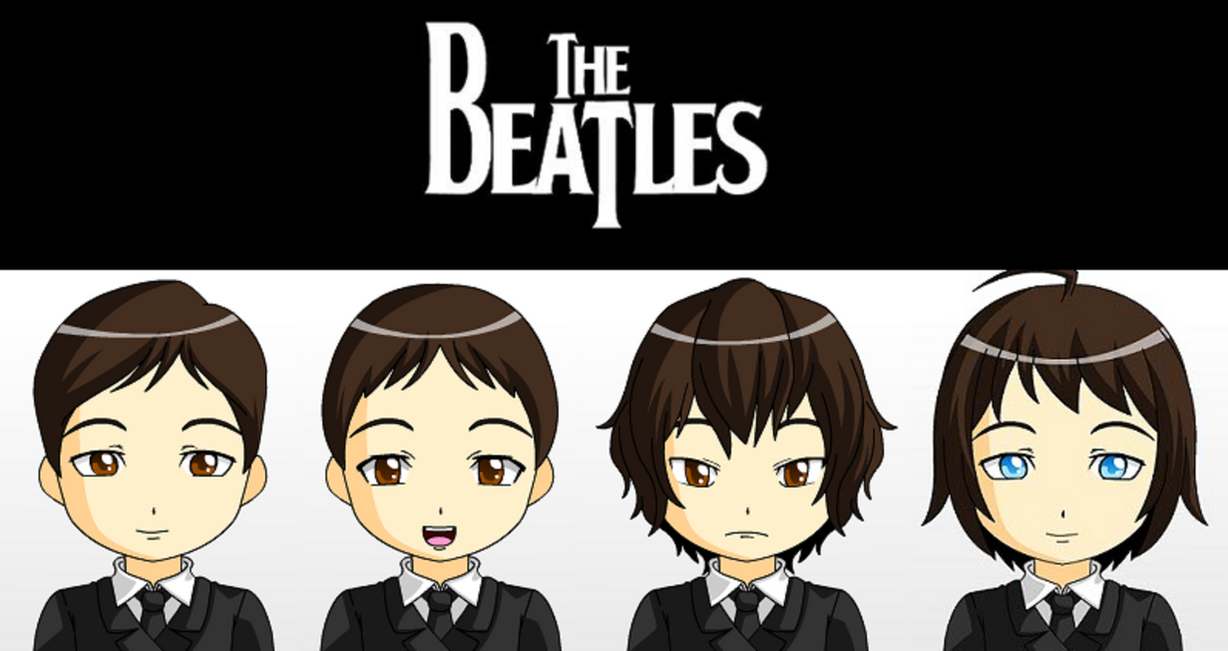 The Beatles by JackHammer86