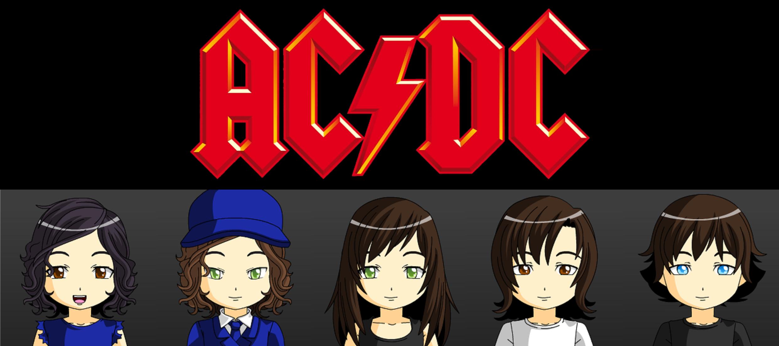 Ac Dc Art : Ac dc bon scott era by jackhammer on deviantart