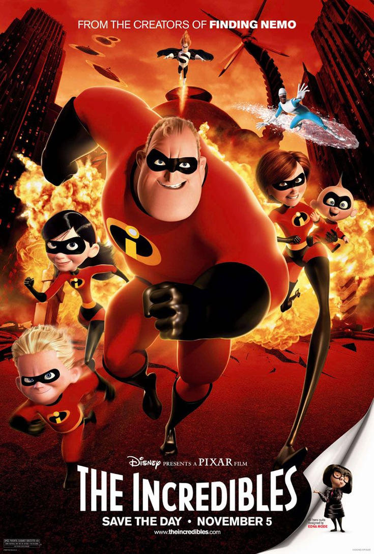 The Incredibles by JackHammer86