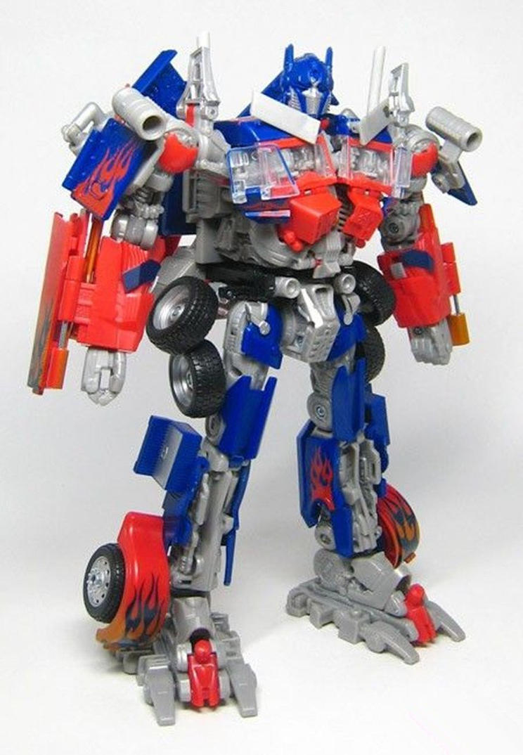 Optimus Prime toy by JackHammer86