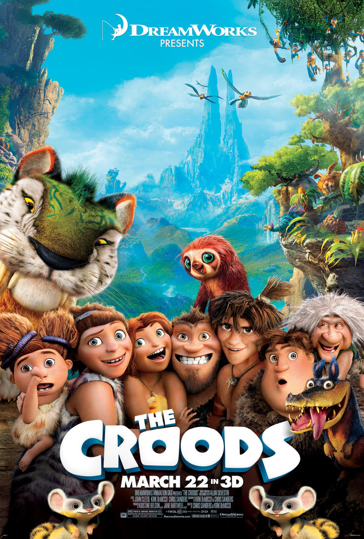 The Croods by JackHammer86