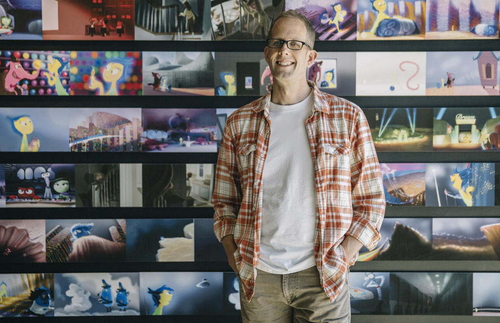 Pete Docter by JackHammer86