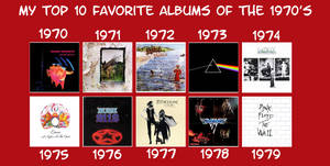 My Favorite Albums of the 1970's