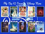 My 10 Favorite Walt Disney Animation Studios Films by JackHammer86