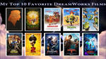 My Top 10 Favorite DreamWorks Films (Updated) by JackHammer86