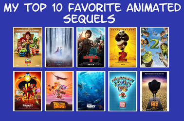 My Top 10 Favorite Animated Sequels