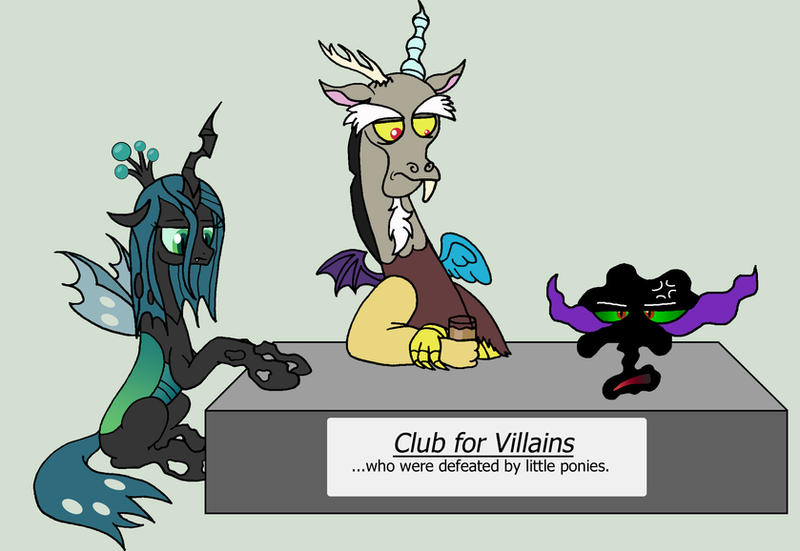 Welcome to the Club by DragonBlood6400