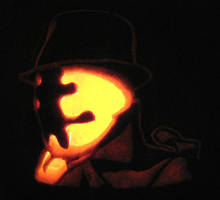 Rorschach pumpkin by Ji-chan3
