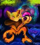 Commission: Morpheus the Abra (kittengoo) by RoguishBard